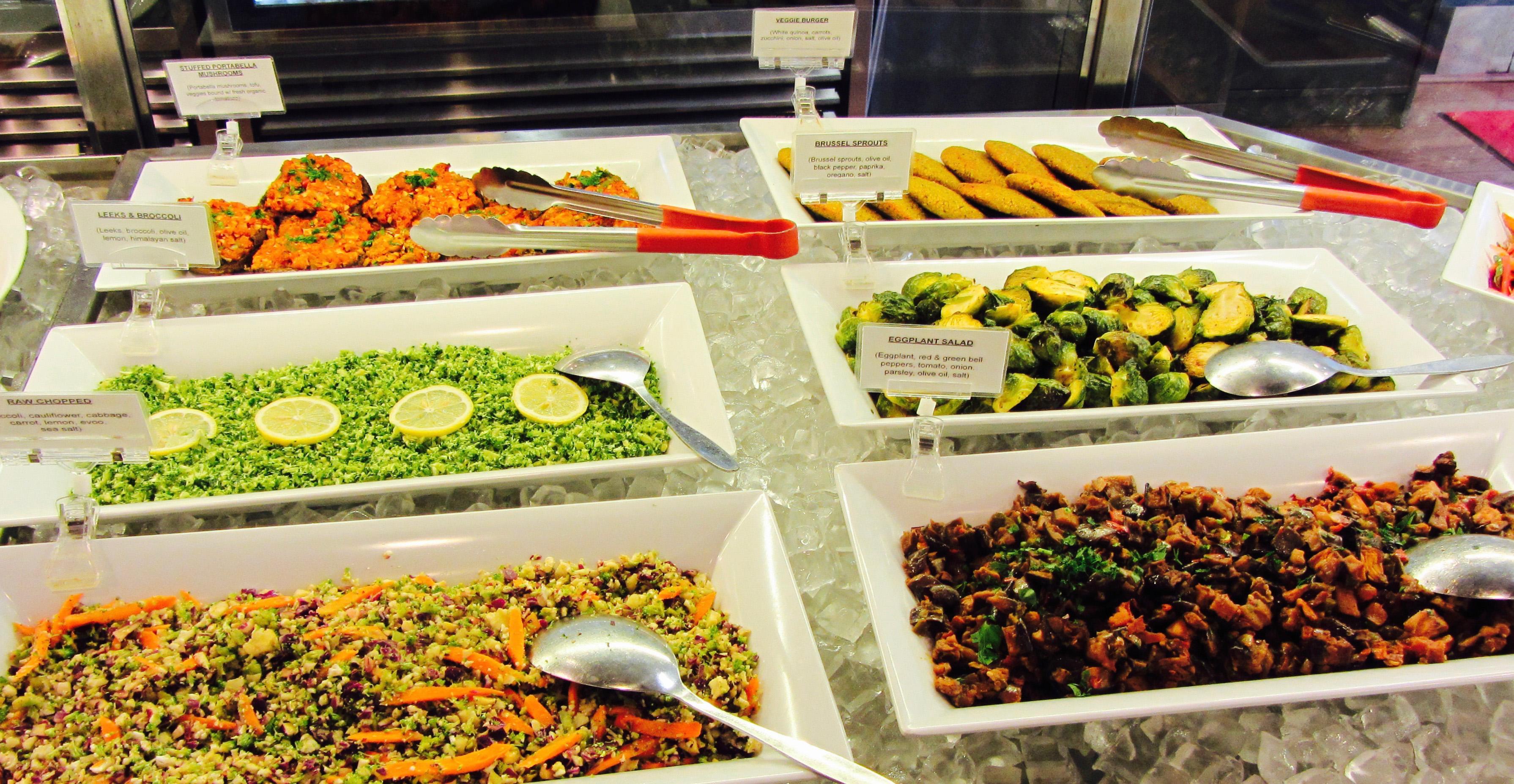 Salad Bar Pureganic