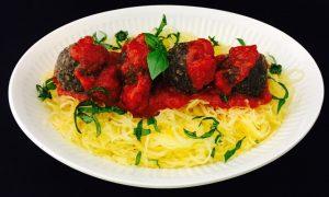 Spaghetti Squash & _Meatballs_